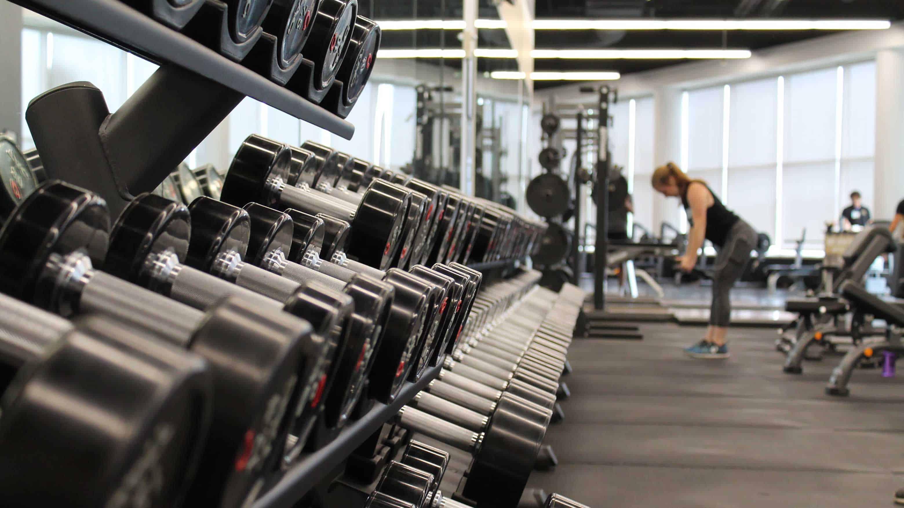 Sportschema fitnessschema in de gym