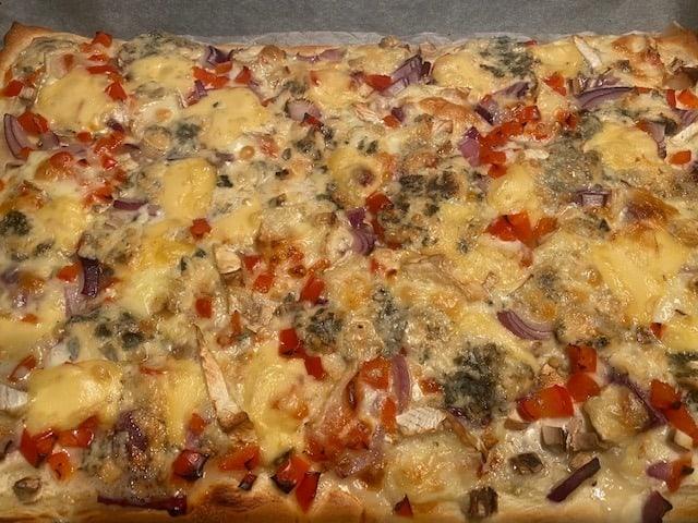 pizza zonder vlees